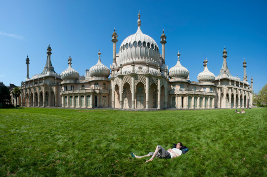 The Royal Pavilion in Brighton.
