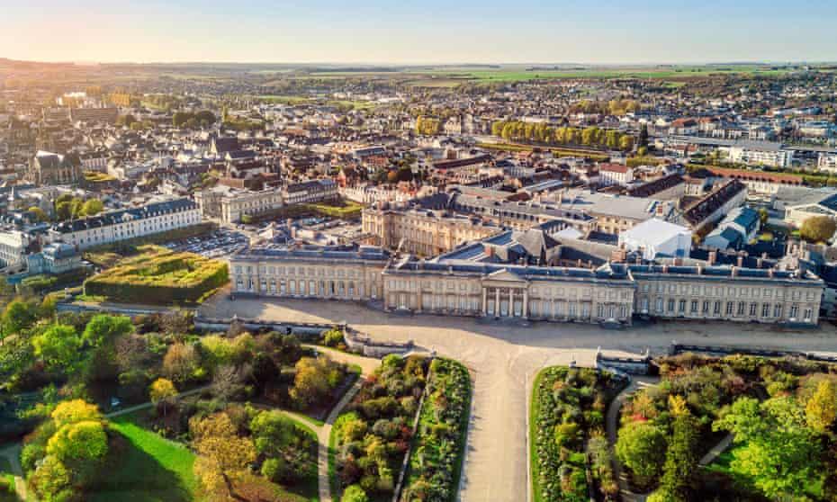 Compiègne's imperial palace.