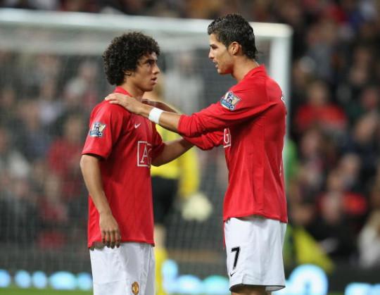 Rafael da Silva credits Cristiano Ronaldo with having a huge influence on his career