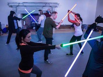 Jedi Training, Brighton