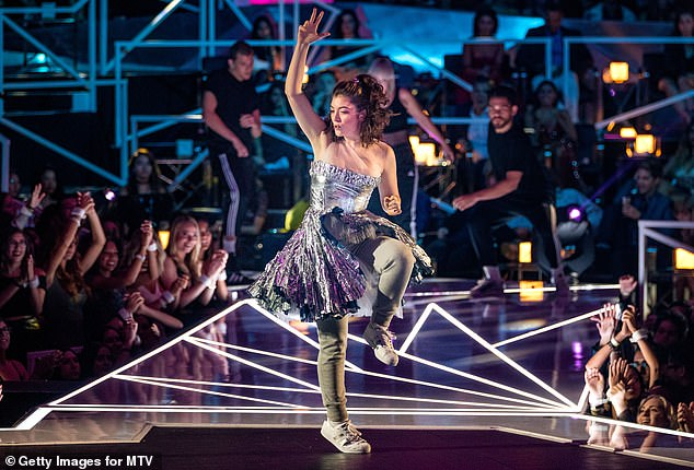Making an appearance: Lorde previously performed at the 2017 Video Music Awards, although she did not sing as she was dealing with a case of the flu
