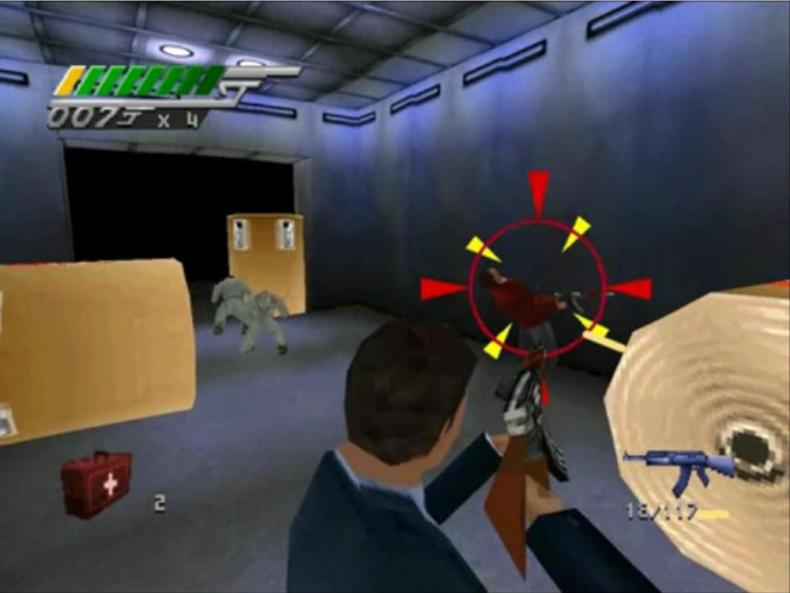 Tomorrow Never Dies Game Screenshot