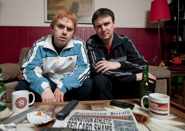 Iain Connell and Robert Florence in Burnistoun