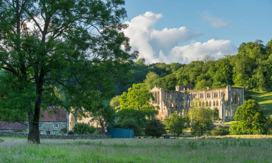 'The village is dominated by the atmospheric ruin of Rievaulx Abbey': Rievaulx, Yorkshire.