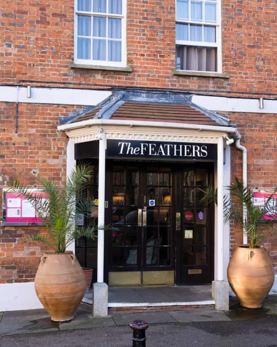 'The Feathers, a 17th-century townhouse, is the place to stay': Woodstock, Oxfordshire.
