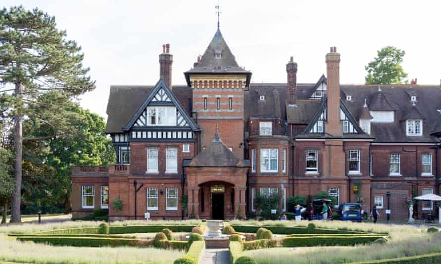 'The Woodland's Park Hotel was one of the first in the UK to have electric light': Stoke d'Abernon, Surrey.