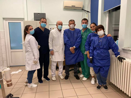Doctors from Pristina, Kosovo, removed the Nokia 3310 after it had been in the man's stomach for four days