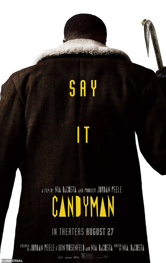 In the running: Other box-office giants at the moment include features such as Candyman, Free Guy and PAW Patrol: The Movie