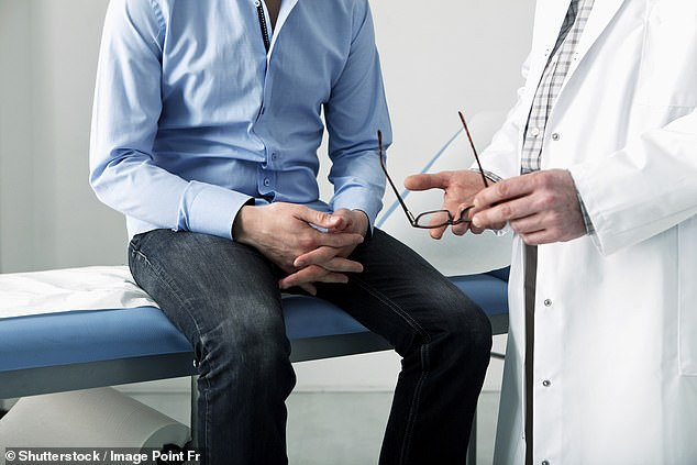 Almost 50,000 men are diagnosed with prostate cancer every year in the UK, making it the most common cancer in males. (File image)