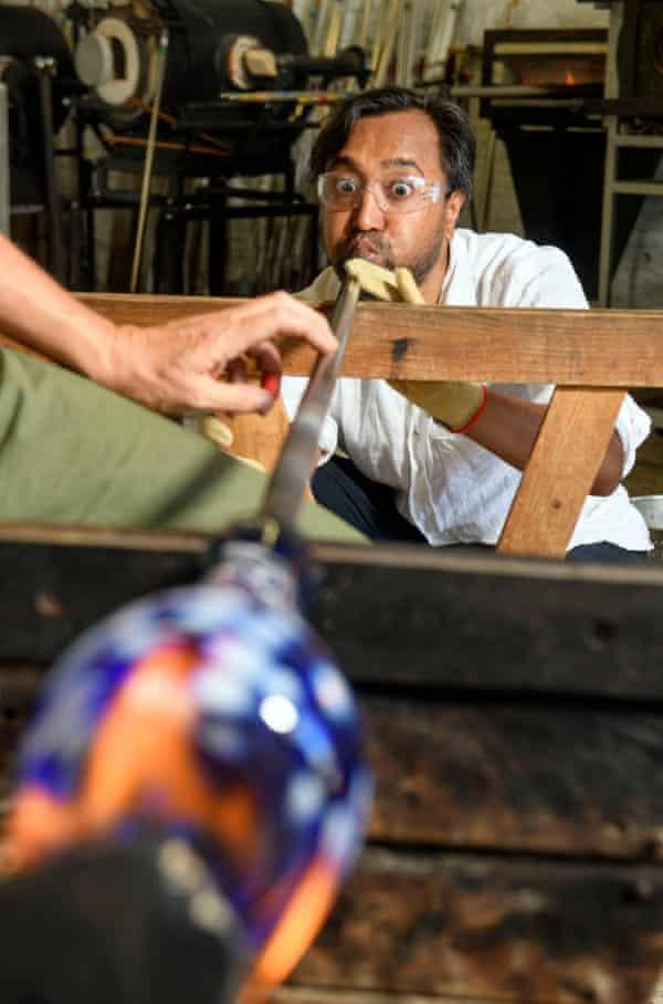 Rhik Samadder at The Glass Hub