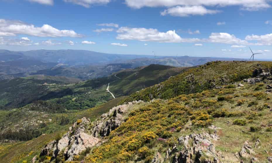 The rugged terrain of the Arouca Geopark