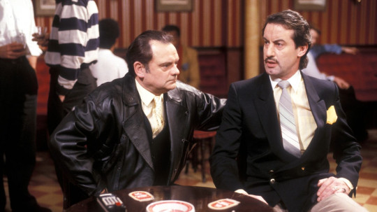 John Challis and David Jason in Only Fools and Horses