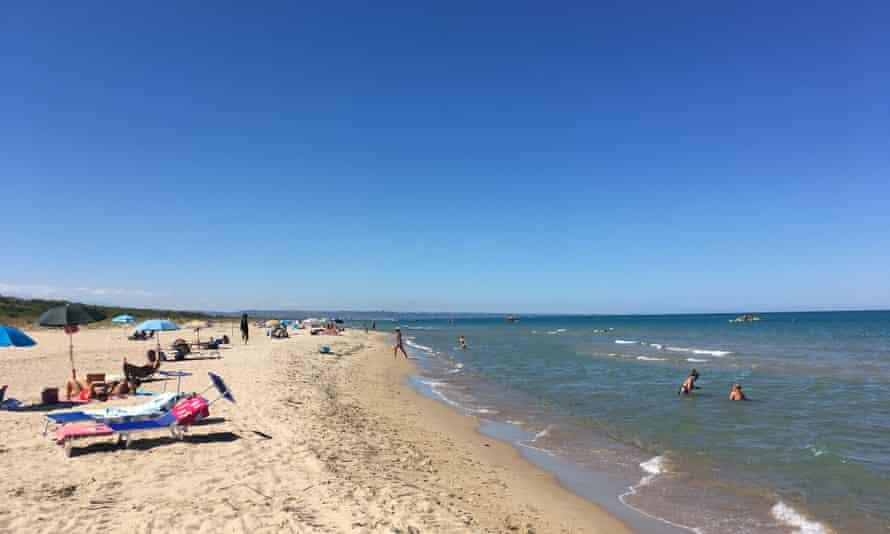 Ventotto beach, near Termoli.