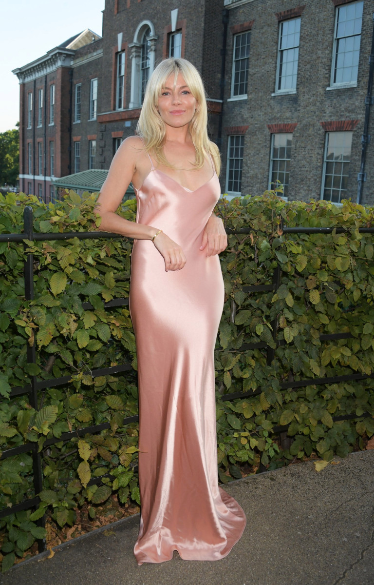 Sienna Miller attends the ATG Summer Party at Kensington Palace on Monday September 6, 2021.