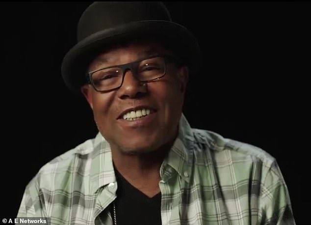 Family matters: Brother Tito Jackson humanizes her on a family level by revealing that 'she will always be my baby sister,'