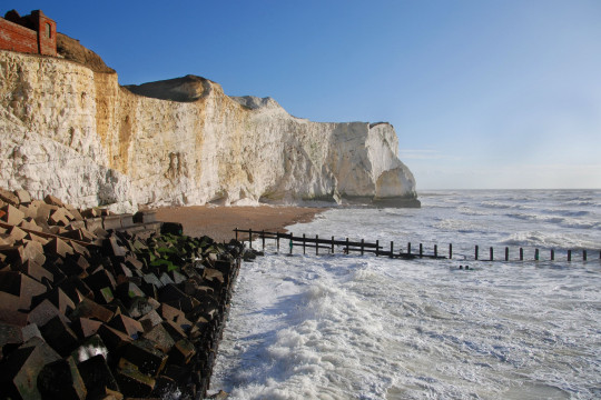 The Cliffs of Seaford Head. Image shot 02/2007. Exact date unknown.