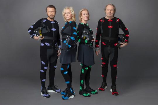 ABBA: Bjorn Ulvaeus, Agnetha Faltskog, Benny Andersson and Anni-Frid Lyngstad