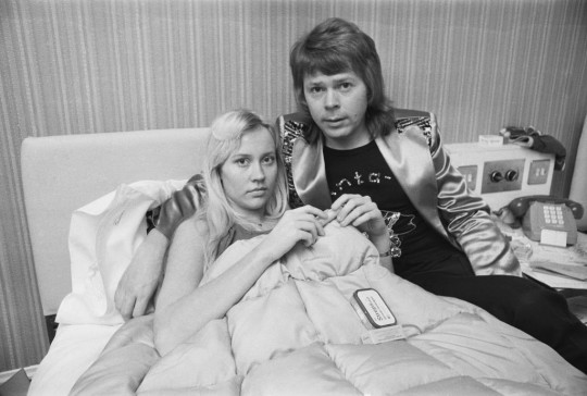 Agnetha and Bjorn, of ABBA