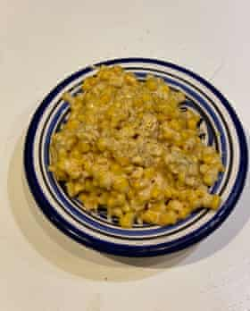 Blessedly simple: Edna Lewis and Scott Peacock's creamed corn.