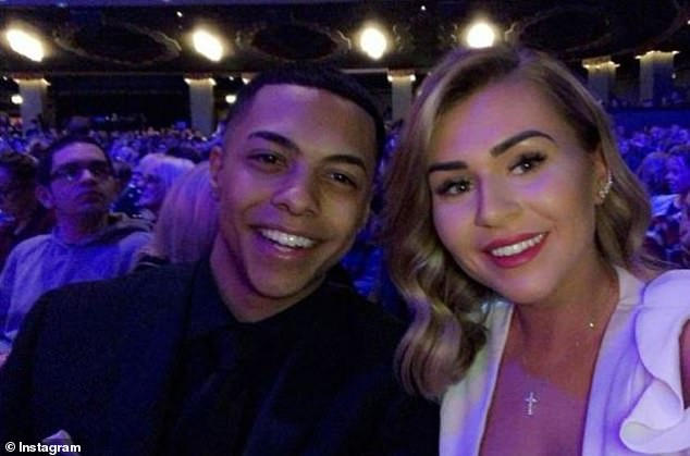 Love triangle: It comes after Zack Morris' ex-girlfriend accused EastEnders co-star Maisie of being the 'other woman' in their relationship before they split, it was reported this month