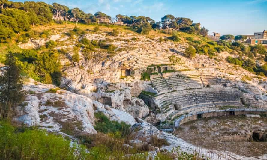 The Roman amphitheatre of Cagliari