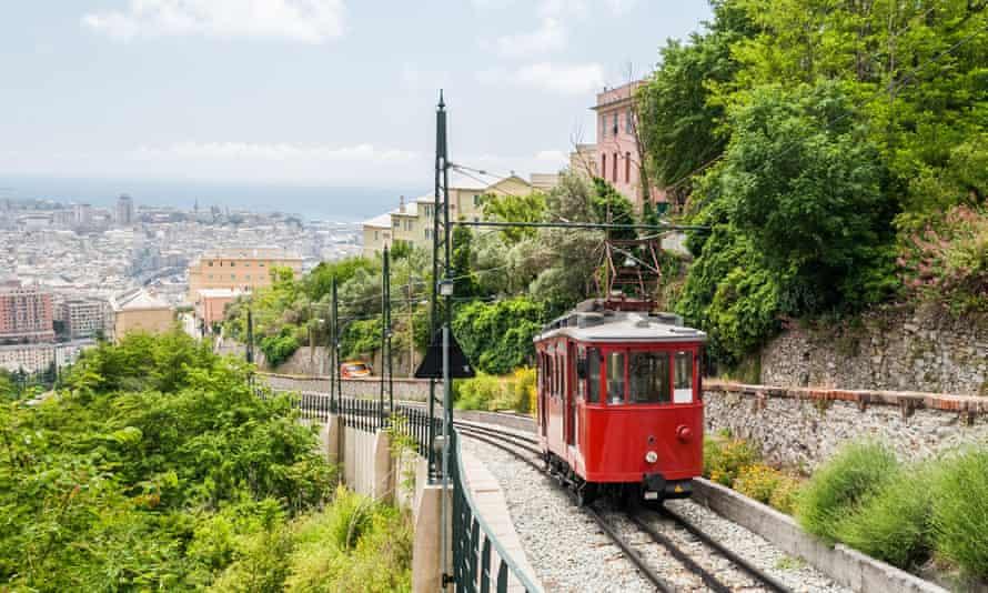 funicular railway Genoa