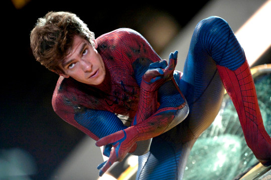 Andrew Garfield is Peter Parker in THE AMAZING SPIDER-MAN.
