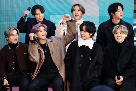 BTS Visits NBC's 'Today' Show