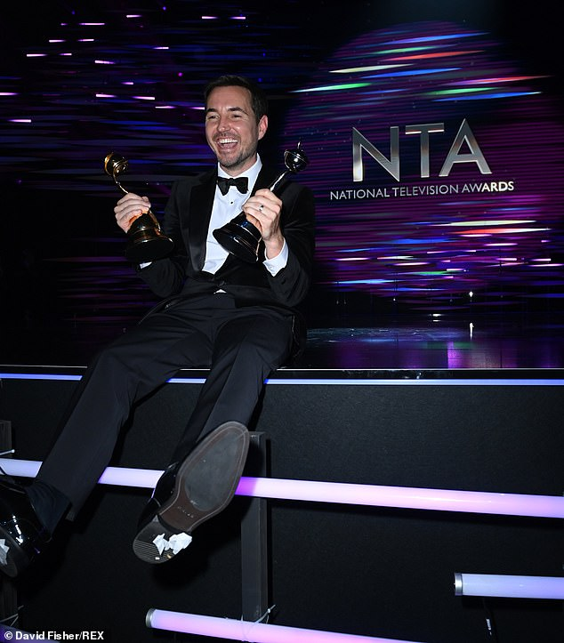 Joy:Martin Compston, who takes on the role of Steve Arnott in the gripping drama, neither confirmed nor ruled out an additional series