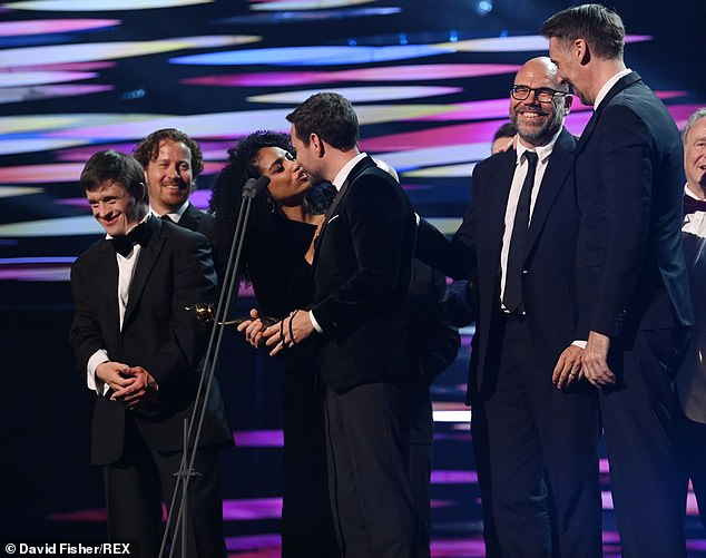 Yay!Line Of Duty had a very successful night and bagged two awards - Special Recognition and Best Returning Drama