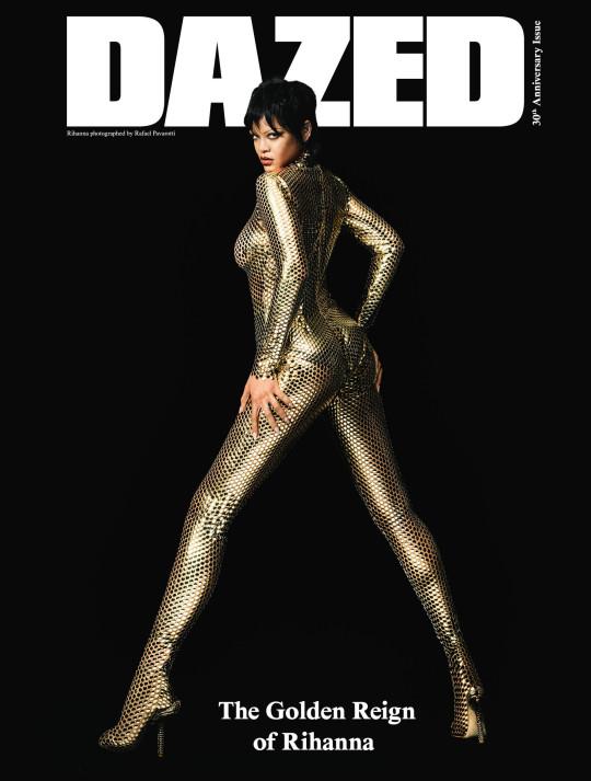 Rihanna on the cover of Dazed Picture: Rafael Pavarotti/Dazed