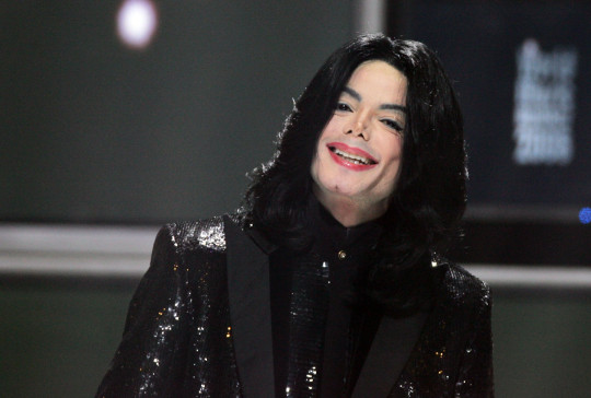 Michael Jackson at 2006 World Music Awards