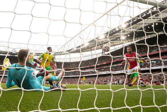 Arsenal are off the bottom of the Premier League table after their 1-0 win over Norwich