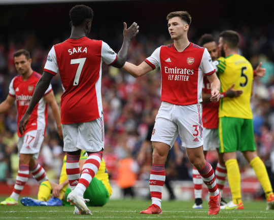 Arsenal will look to make it back-to-back wins against Burnley next weekend