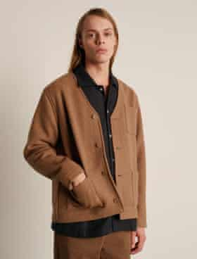 Style file: Cardigan, £201, shirt, £177, trousers, £213, anotheraspect.org