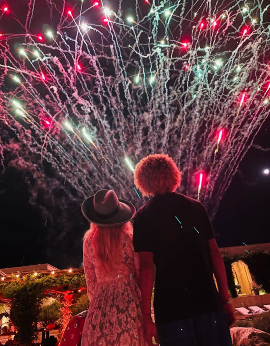 Madonna gets lit for 63rd birthday with boyfriend and kids at fireworks display in Italy