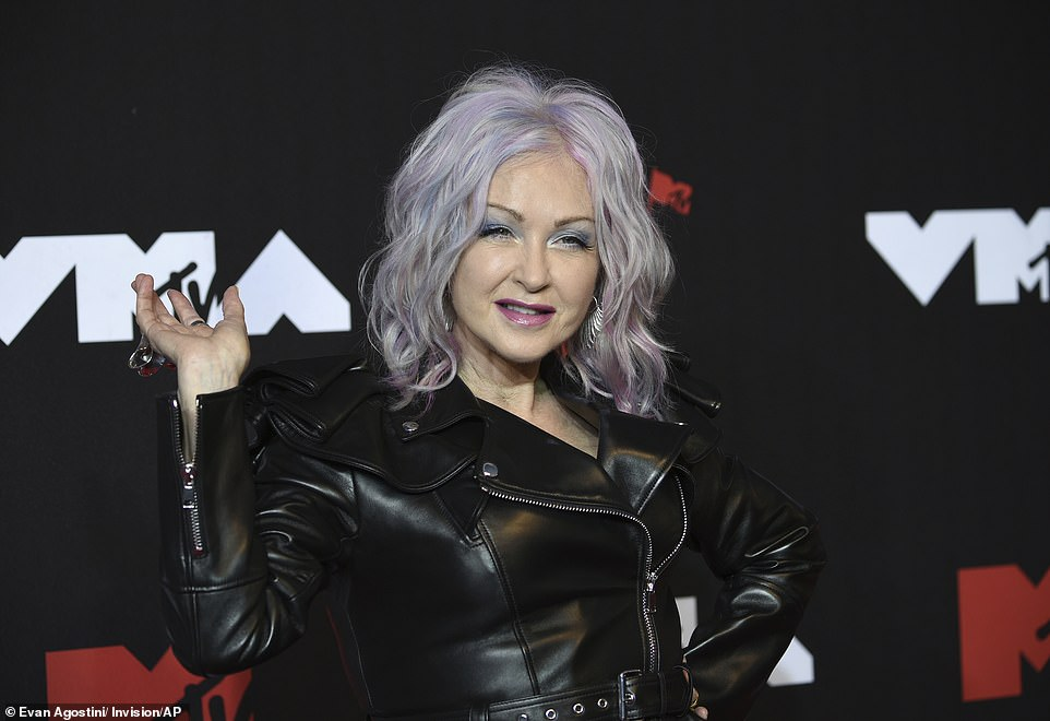 Cyndi:Cyndi Lauper took to the stage to present the Best Pop Award, but before she did that, she revealed she won an award at the first VMAs while delivering a powerful message