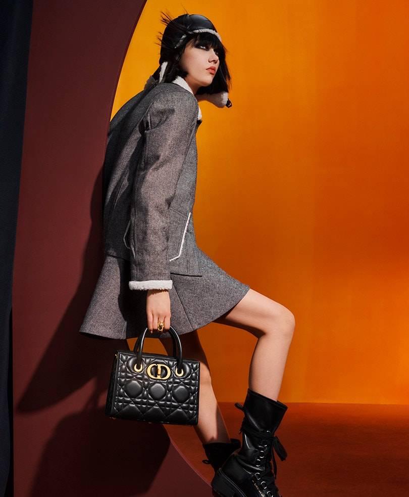 Dior presents: The macro-cannage theme