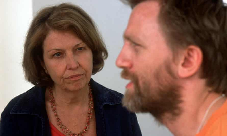 Anne Reid and Daniel Craig in The Mother.