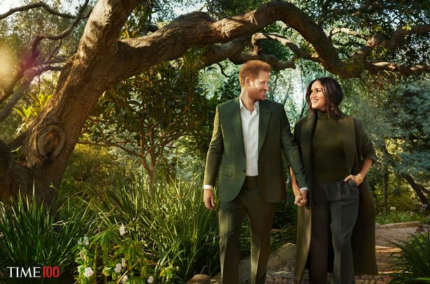 Meghan and Harry say they were humbled to be included on the list