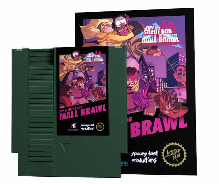 Jay and Silent Bob: Mall Brawl is a brand new game for the Nintendo NES.