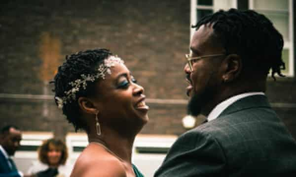 Nayasha Daley and Dwaine married last March.