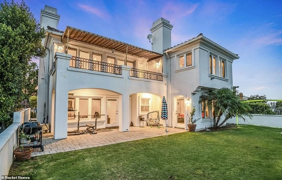 The home, which Roseanne bought for $1.17 million in 2004, is situated near LAX airport and the 405 freeway