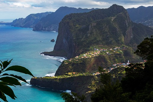 Wild Coast Madeira in Portugal.