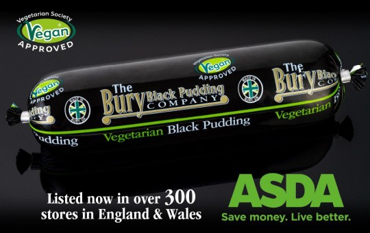 Picture of ASDAs vegan black pudding TRIANGLE NEWS 0203 176 5581 // news@trianglenews.co.uk By Lucas Cumiskey With pix CARNIVORES have grilled Asda for rolling out vegan black puddings in hundreds of stores. The supermarket giant has revealed it will stock the controversial vegan take on a classic British dish in more than 300 of its branches in England and Wales. The plant-based alternative is made by The Bury Black Pudding Company, and consists of a concoction of ingredients including black beans. *TRIANGLE NEWS DOES NOT CLAIM ANY COPYRIGHT OR LICENSE IN THE ATTACHED MATERIAL. ANY DOWNLOADING FEES CHARGED BY TRIANGLE NEWS ARE FOR TRIANGLE NEWS SERVICES ONLY, AND DO NOT, NOR ARE THEY INTENDED TO, CONVEY TO THE USER ANY COPYRIGHT OR LICENSE IN THE MATERIAL. BY PUBLISHING THIS MATERIAL , THE USER EXPRESSLY AGREES TO INDEMNIFY AND TO HOLD TRIANGLE NEWS HARMLESS FROM ANY CLAIMS, DEMANDS, OR CAUSES OF ACTION ARISING OUT OF OR CONNECTED IN ANY WAY WITH USER'S PUBLICATION OF THE MATERIAL*