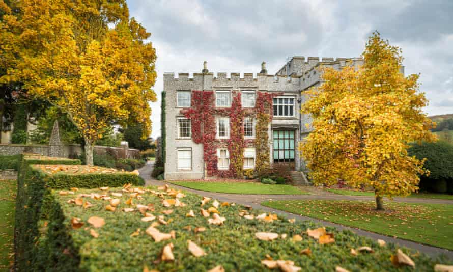 Autumn at West Dean College and Gardens.