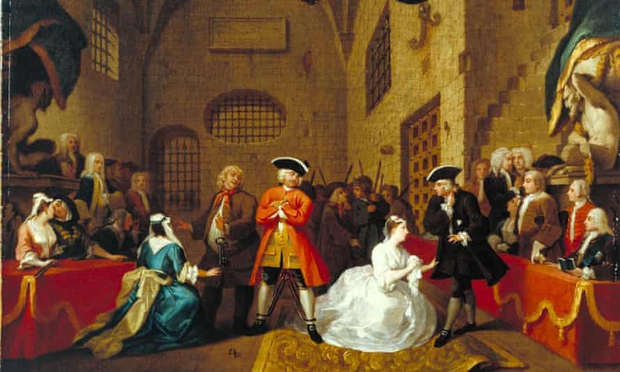 Hogarth and Europe 3 November 2021 – 20 March 2022, Tate Britain Image: William Hogarth A Scene from 'The Beggar's Opera' VI, 1731 Tate