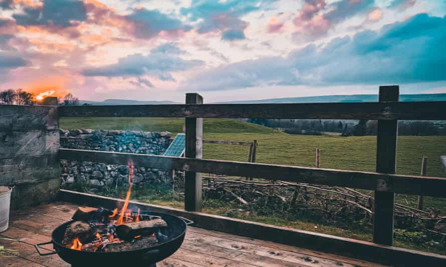 The Wensleydale Experience Yurts Dan Berry