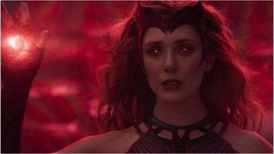 Elizabeth Olson as the Scarlet Witch, WandaVision