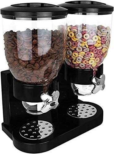 Double cereal dispenser